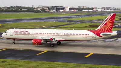 VT-PPN - Airbus A321-211 - Air India