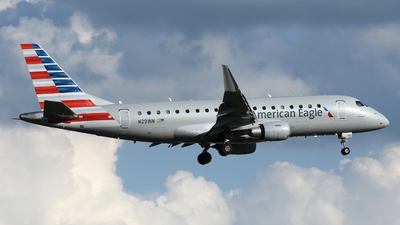 A picture of N291NN - Embraer E175LR - American Airlines - © DJ Reed - OPShots Photo Team
