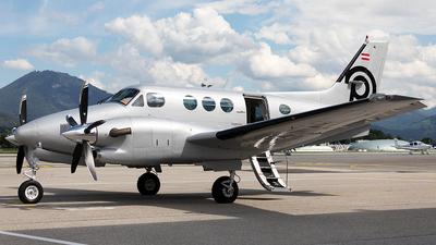 OE-FHL - Beechcraft C90A King Air - Airlink Luftverkehrsgesellschaft