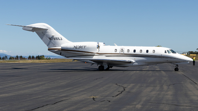 A picture of N789XJ - Cessna 750 Citation X - Xojet - © Grant Gladych