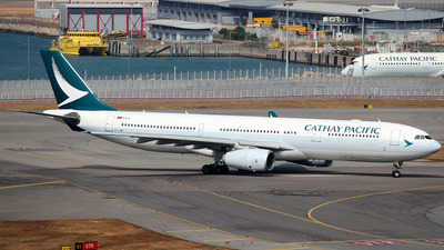 A picture of BLBC - Airbus A330343 - Cathay Pacific - © Stanleyng