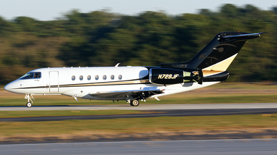 N729JF - Hawker Beechcraft 4000 - Private