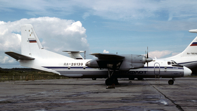 RA-26139 - Antonov An-26B - Kras Air - Krasnoyarsk Airlines