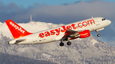 G-EZAY - Airbus A319-111 - easyJet