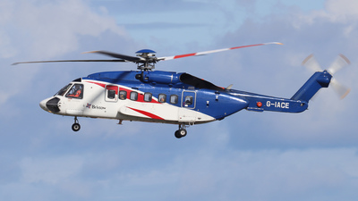 A picture of GIACE - Sikorsky S92A Helibus - Bristow Helicopters - © Tartanpics