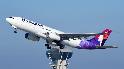 A picture of N378HA - Airbus A330243 - Hawaiian Airlines - © Rocky Wang