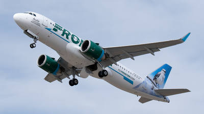A picture of N367FR - Airbus A320251N - Frontier Airlines - © Cary Liao