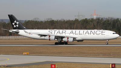 D-AIFF - Airbus A340-313X - Lufthansa