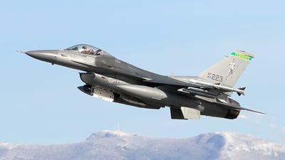 87-0223 - General Dynamics F-16C Fighting Falcon - United States - US Air Force (USAF)