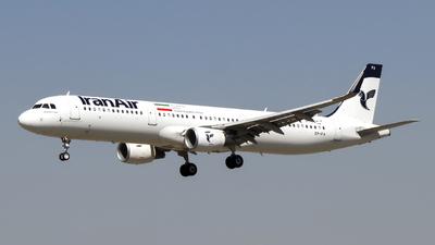 EP-IFA - Airbus A321-211 - Iran Air
