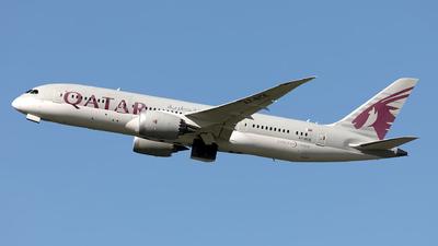 A picture of A7BCE - Boeing 7878 Dreamliner - Qatar Airways - © Hanjo Schrenk