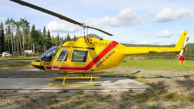 C-GTNY - Bell 206B JetRanger - Trans North Helicopters