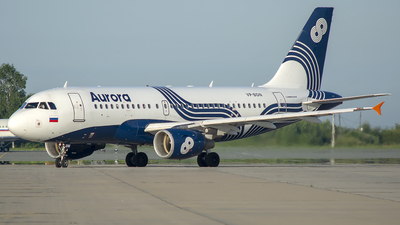 A picture of VPBDN - Airbus A319111 - Aurora - © Artem Nemchinov