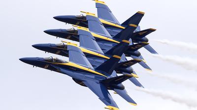 165666 - Boeing F/A-18E Super Hornet - United States - US Navy (USN)