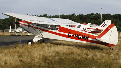 G-MGMM - Piper PA-18-150 Super Cub - Private