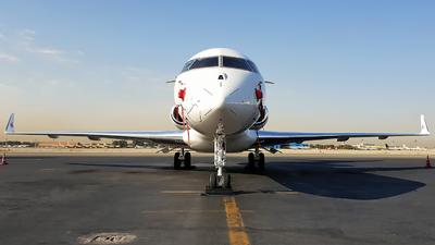 A7-CEE - Bombardier BD-700-1A10 Global Express - Qatar Airways