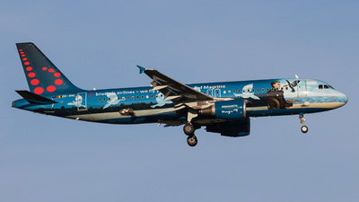 OO-SNC - Airbus A320-214 - Brussels Airlines