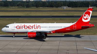 D-ABZC - Airbus A320-216 - Air Berlin