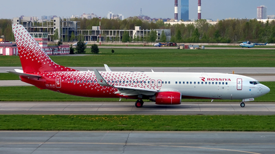 VQ-BJX - Boeing 737-86N - Rossiya Airlines