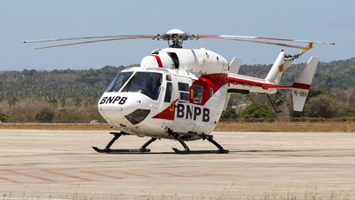 PK-WMW - MBB-Kawasaki BK117C-1 - BNPB - Indonesian National Board for Disaster Management