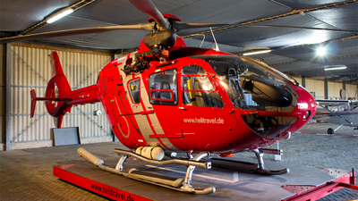 A picture of DHTMH - Airbus Helicopters H135 - HTM Helicopter Travel Munich - © Leon Knipp
