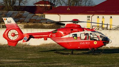 343 - Eurocopter EC 135T2+ - Romania - Emergency Rescue Service (SMURD)