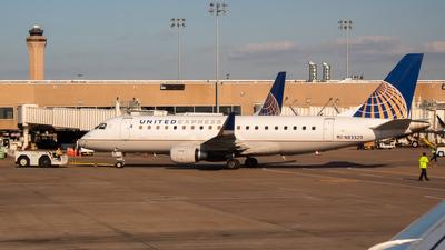 A picture of N83329 - Embraer E175LR - United Airlines - © Rodrigo Ehnis Borja