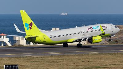HL7757 - Boeing 737-8GQ - Jin Air