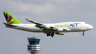 A picture of TCACF - Boeing 747481(BDSF) - AirACT - © Kris Van Craenenbroeck