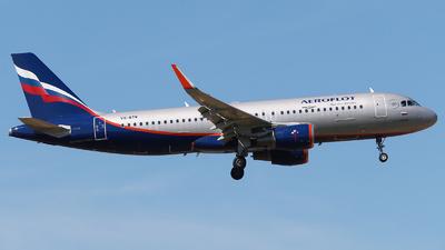 A picture of VQBTW - Airbus A320214 - Aeroflot - © Mikhail Tkachuk