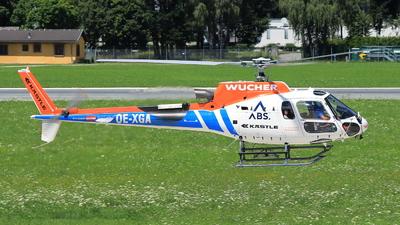 OE-XGA - Eurocopter AS 350B3 Ecureuil - Wucher Helicopter