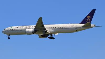 HZ-AK31 - Boeing 777-3FGER - Saudi Arabian Airlines
