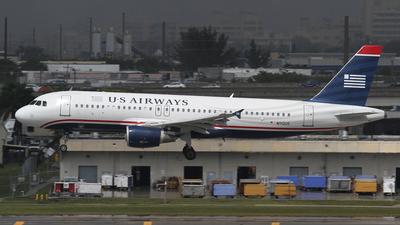 N112US - Airbus A320-214 - US Airways