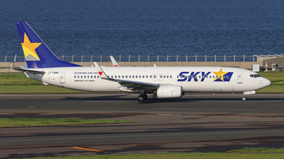 A picture of JA73NP - Boeing 7378HX - Skymark Airlines - © KAPPI@NGO