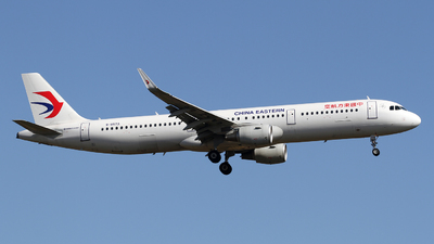 B-8573 - Airbus A321-211 - China Eastern Airlines