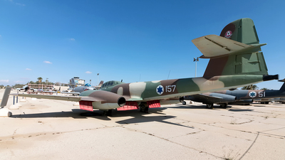 157 - Gloster Meteor NF.13 - Israel - Air Force