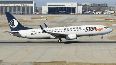 A picture of B7568 - Boeing 73785N - Shandong Airlines - © LANG