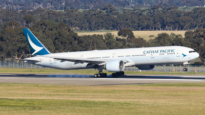 A picture of BKPT - Boeing 777367(ER) - Cathay Pacific - © Nicholas Kimura