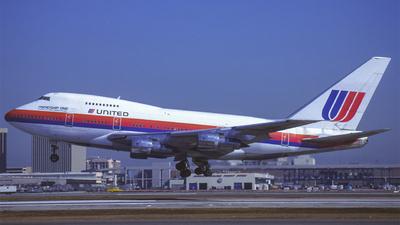 N147UA - Boeing 747SP-21 - United Airlines