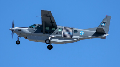 606 - Cessna 208B Grand Caravan - Guatemala - Air Force