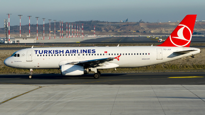 A picture of TCJUK - Airbus A320232 - Turkish Airlines - © Alp AKBOSTANCI