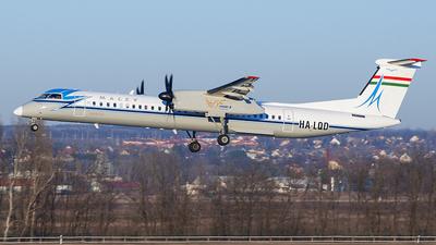 HA-LQD - Bombardier Dash 8-Q402 - Malév Hungarian Airlines