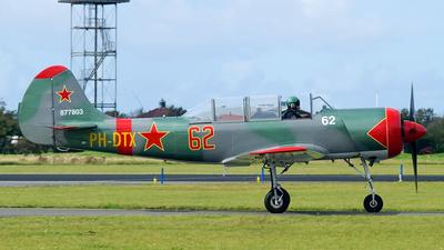 PH-DTX - Yakovlev Yak-52 - Private