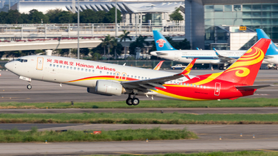 A picture of B1501 - Boeing 73784P - Hainan Airlines - © Jerry_Hammer