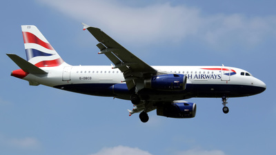 G-DBCD - Airbus A319-131 - British Airways