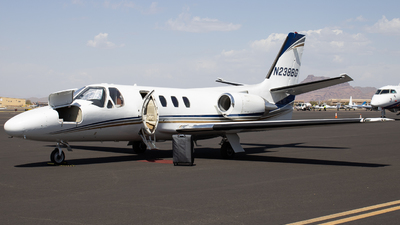 N238BG - Cessna 501 Citation - Private