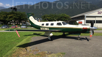 N55WH - Piper PA-46-350P Malibu Mirage/Jetprop DLX - Private