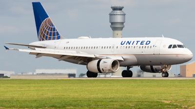 N498UA - Airbus A320-232 - United Airlines