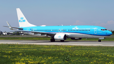 A picture of PHBCG - Boeing 7378K2 - KLM - © Marin Ghe.