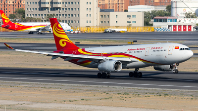 A picture of B6519 - Airbus A330243 - Hainan Airlines - © UNNAMED